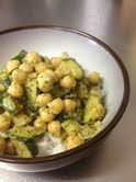 chickpea coconut cilantro curry