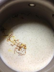 milk saffron