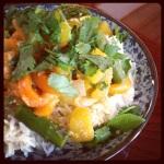 kabocha insta curry side