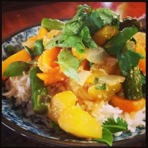 Kabocha Squash Thai Curry