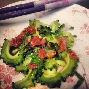 goya salad umeboshi