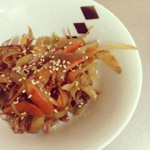 gobo kinpira bowl