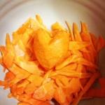 gobo kinpira carrot heart
