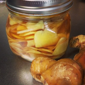 pickled ginger ginger jar
