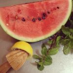 watermelon cooler ingredients
